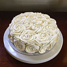 White Rose Cake: Designer cakes for anniversary