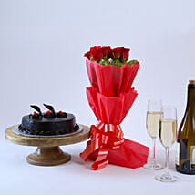 Will You Be Mine: Flowers & Cakes for Birthday
