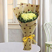 Yellow Carnations In Joy: Gift For Boss