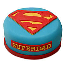 Yummy Super Dad Special Cake: Cake Delivery in Kalyan
