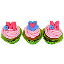 Yummy Surprise For Mom Cupcakes: Mother's Day Designer Cakes