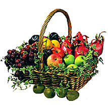 Basket Of Fresh Fruits: Get Well Soon Gifts to Malaysia