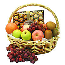 Energetic Fruit Basket: Corporate Hampers to Malaysia