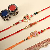 Bond of Love Rakhi: Rakhi for Brother in New Zealand