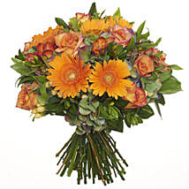 Bright Citrus Bouquet: Gift to Christchurch
