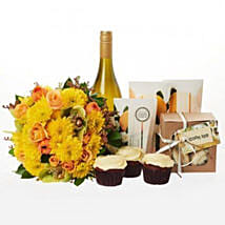 Bright N Beautiful Hamper: Rakhi Gifts for Sister to NZ
