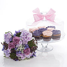 Flowers N Cakes Combo: Diwali Gifts to New Zealand