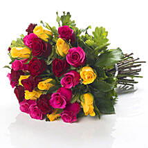 Mixed Roses Bouquet: Flower Delivery in New Zealand