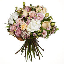 Pastel Flowers Bouquet: Mothers Day Flowers to New Zealand