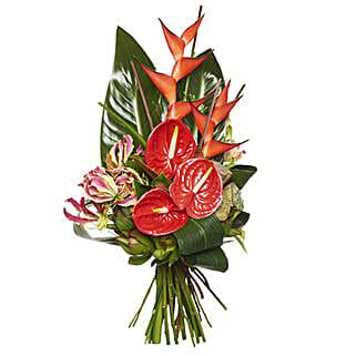 Ravishing Red Bouquet: Friendship Day Gifts ti New Zealand