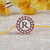 Personalized Rakhi With Initial: Rakhi Delivery in Norway