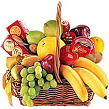 Cheese Crackers n Fruit Basket oma: Send Valentine Gifts to Oman
