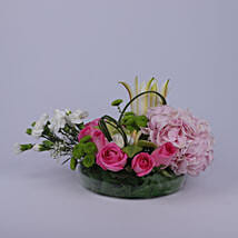 Colorful Greetings Of Flowers: Send Lilies to Oman