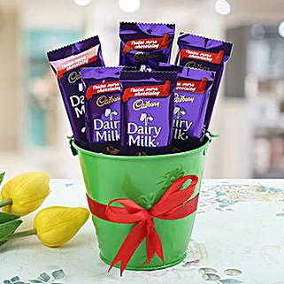 Cadbury Vase: Birthday Gifts to Philippines