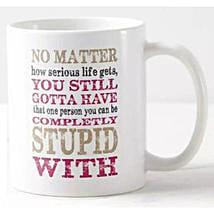 Fun Quotes Printed Mug: Gifts for Birthday in Philippines