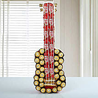 Guitar Of Chocolates