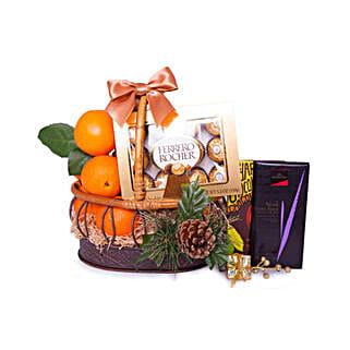 Basket Of Indulgence: Wedding Gift Delivery in Qatar