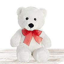 Lovable White Large Teddy Bear: Corporate Hampers to Qatar