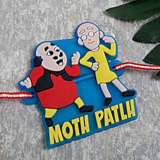 Motu Patlu kids Rakhi: Rakhi Delivery in Romania