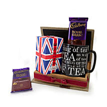 Keep Calm Tea Set: Send Anniversary Gifts To Saudi Arabia