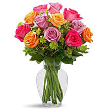 Pure Enchantment Rose Bouquet: Birthday Flower Delivery In Saudi Arabia