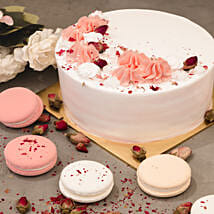 5in Round Red Forest Cake: Order Cake Singapore