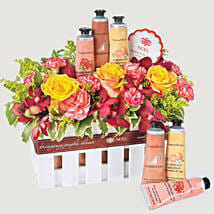 Crabtree and Evelyn Hand Care Hamper: Gift Basket to Singapore