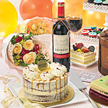 Delectable Red Velvet Cake: Singapore Cake Delivery