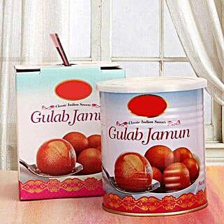 Delicious Gulab Jamun: Bhai Dooj Gift Delivery in Singapore
