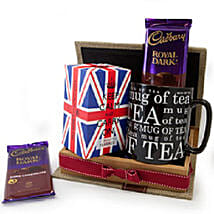 Keep Calm Tea Set: Gift Basket to Singapore
