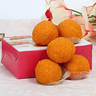 Moti Choor Laddoo: Bhai Dooj Sweets to Singapore