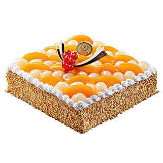 Savory Peach and Longan Cake: New Year Gifts to Singapore
