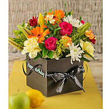 Birthday Flowers in a Box: Birthday Flowers to South Africa