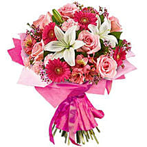 Pink Blush: Birthday Flower Delivery in South Africa