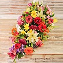 Seasonal Flower Coffin Display: Anniversary Gift Delivery in South Africa