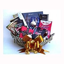 Holiday coffee and Sweets Gift Basket: Gift Delivery in Sweden
