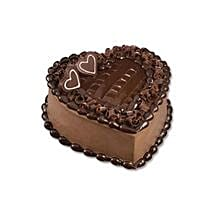 Chocolate Heart Cake: Valentines Day Cakes to Thailand