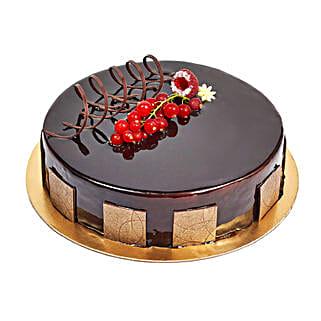 500gm Eggless Chocolate Truffle Cake: Cakes to Dubai