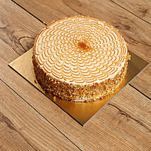 500gm Yummy Butturscotch Cake: Half Kg Cake Delivery in UAE