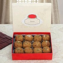 Box of Dry Fruit Besan Laddoo: Sweet Delivery in UAE
