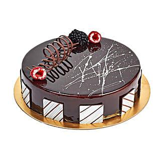 Chocolate Truffle Birthday Cake: Send Cakes to UAE