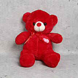 Cuddly Red Teddy Bear: Send Soft Toys to UAE