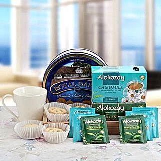 Eternal Blue Allure: Bhai Dooj Gift Delivery in UAE