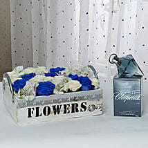 Exclusive Flower Arrangement With Fragrant Perfume: Perfumes Delivery in UAE