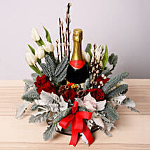 Floral Christmas Hamper: Christmas Gifts to UAE