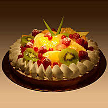 Fruit Tart: Cake Delivery in Fujairah
