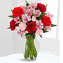 Love in Bloom Bouquet: Flower Delivery in UAE