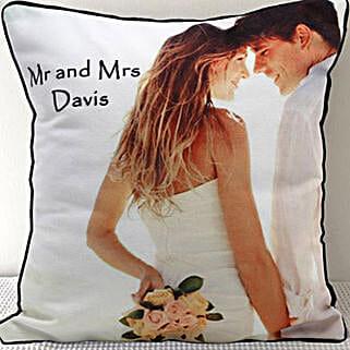 Mr N Mrs Personalized Cushion: Personalized Gifts Dubai UAE