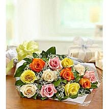 One Dozen Roses: Send Flowers for Him to UAE
