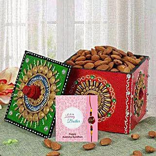 Premium Rakhi Combo: Send Rakhi to UAE